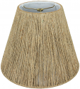 "Coarse Beige Hemp Rope Empire String Lamp Shade 14-20""W"