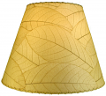 "Cocoa Leaf Lamp Shade 16""W #486-Natural"