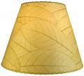 "Cocoa Leaf Lamp Shade 16""W #486-Natural"