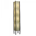 "Cocoa Leaf & Bamboo Fortune Floor Lamp 72""Hx11""W #395XL-Natural"