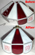 Ohio State Tiffany Shade Repair