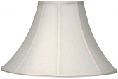 "Bell Silk Coolie Lamp Shade 16-24""W - Sale !"