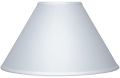 "White Linen Coolie Lamp Shade 15-24""W"