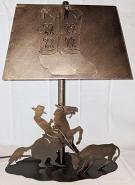 """Cowboy Lamp Boots Shade 17""""H"""