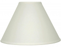"Cream Linen Empire Lamp Shade 12-18""W - Sale !"