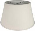 "Cream Linen Floor Lamp Shade 19""W - Sale !"
