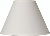 "Cream Linen Lamp Shade 15""W"