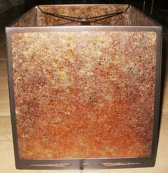Cube Shape Mica Lamp Shade