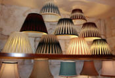 Custom Empire Pleated Lamp Shades