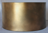 Custom Antique Gold Metal Lamp Shade
