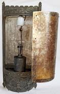 Custom Mica Lamp Shade for Sconce Light