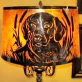 Mica Lamp Shade with Pet Image