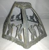 Warped Slag Lamp Shade Frame Repair