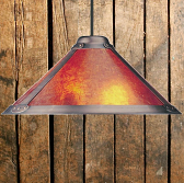 Mica lamp shade