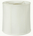 "Classic Stiffel Drum Lamp Shade Cream, White, Beige 10-18""W"