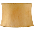 "Drum Sheep Skin Leather Lamp Shade 12-20""W"