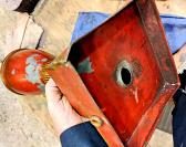 Antique French Lamp Base Restoration