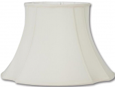 """French Oval Silk Lamp Shade 8-20""""W"""