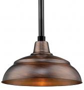 """Genuine Copper Pendant Light Indoor-Outdoor 14-17""""W"""