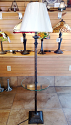 "Bronze Glass Tray Floor Lamp 62""H - Sale !"