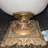 Hurricane Lamp Base Repair