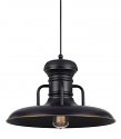 "Bronze Warehouse Pendant Light 16""W"