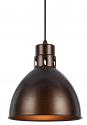 """Simple Rust Dome Pendant Light 10""""W - Sale !"""