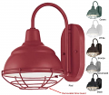 "Wall Bracket Light 6 Colors Indoor-Outdoor 8""Wx11.75""H - Sale !"