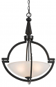 "Beverly ORB Oil Rubbed Bronze Pendant Light 20""Wx27""H"