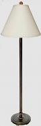"""Antique Iron Floor Lamp 61""""H SOLD"""