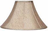 "Gold Flecks Coolie Lamp Shade 16-22""W - Sale !"