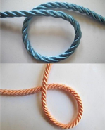 Colorful Cording for Custom Lamp Shade