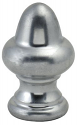 "Nickel Acorn Lamp Shade Finial 1.25""H"