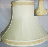 Silk Lamp Shades Recover Projects