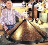 Large Dirk Van Erp Mica Lamp Shade