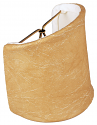 """Leather Look Sconce Shade 4""""W"""