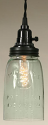 "Mason Jar Swag Lamp Quart Size 9""H"