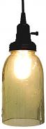 "Mason Jar Swag Lamp Embossed Stars 11.5""H - Sale !"