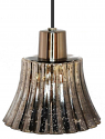"Vintage Mirror Mercury Glass Pendant Lights 9""W - Sale !"