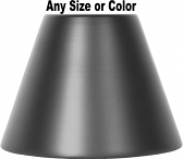 Metal Lamp Shade Any Size or Color