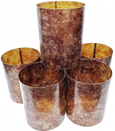 Mica Cylinder Lamp Shades without Frames