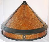 Gothic Medieval Dirk Van Erp Mica Lamp Shade