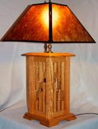 Custom Mica Lamp Shade For Wood Lamp
