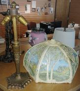 Miller Slag Lamp & Shade Glass Repair