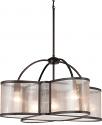 "Bronze Chandelier Sheer Shades 28""Wx16""H - Sale !"