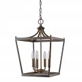 "Kennedy Oil Rubbed Bronze Lantern Pendant Light 13""Wx20""H - Sale !"