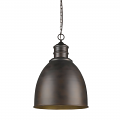 "Colby Oil Rubbed Bronze Pendant Light 17""Wx25""H"