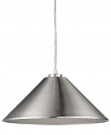 "Alcove Satin Nickel Industrial Pendant Light 13""Wx7""H - Sale !"