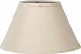 """Natural Linen Coolie Lamp Shade 17-21""""W - Sale !"""