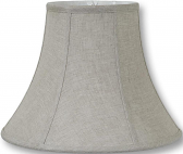 "Natural Linen Lamp Shade 12-16""W"